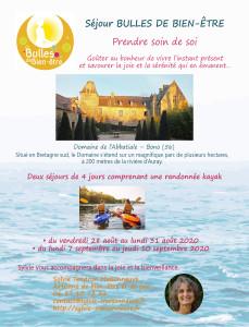 Flyer 2020 Abbatiales - 4 jours + kayak